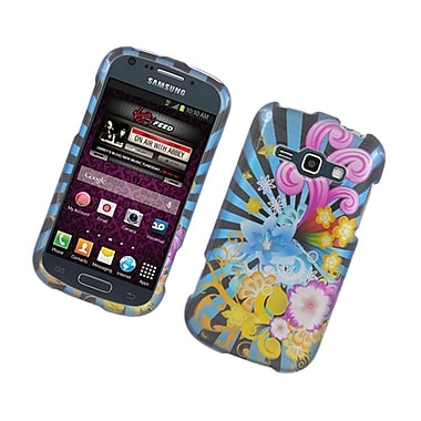 Insten Fireworks Hard Case For Samsung Galaxy Prevail 2/Ring - Blue/Colorful