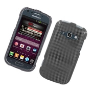 Insten Carbon Fiber Hard Case For Samsung Galaxy Prevail 2/Ring - Dark Gray