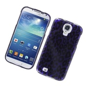 Insten Leopard Hard Cover Case For Samsung Galaxy S4 - Purple