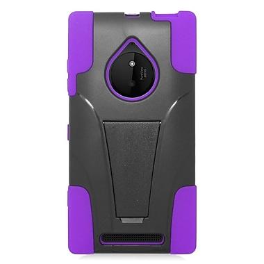 Insten Hard Dual Layer Plastic Hybrid Case For Nokia Lumia 830 - Purple