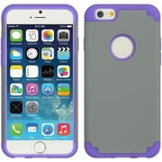Insten Hard Dual Layer TPU Case For Apple iPhone 6 / 6s - Gray/Purple