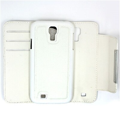 Insten For Samsung Galaxy S4 i9500 Magnetic REMOVABLE Horizontal Flap Wallet/ID Pouch Case- White 24078655