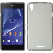Insten Hard Crystal Skin Tinted Back Protective Case For Sony Xperia T3 - Gray