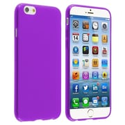 Insten Purple TPU Slim Gel Rubber Case Cover For Apple iPhone 6S 6 4.7-inch