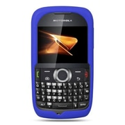 Insten Premium Silicone Skin Gel Back Soft Case Cover For Motorola Theory - Blue