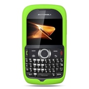 Insten Premium Silicone Skin Gel Back Soft Case Cover For Motorola Theory - Green