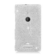 Insten Hard Diamante Case For Nokia Lumia 925 - Silver
