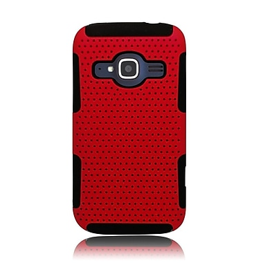 Insten Astronoot Hard Hybrid TPU Case For ZTE Concord II - Red/Black