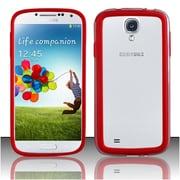 Insten For Samsung Galaxy S4 i9500 Bumper Case - Red