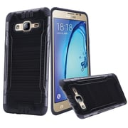 Insten Hard Hybrid Silicone Cover Case For Samsung Galaxy On5 - Black