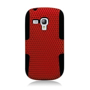 Insten Astronoot Hard Dual Layer TPU Case For Samsung Galaxy S3 Mini - Red/Black