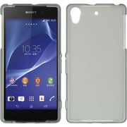 Insten Hard Crystal Skin Tinted Back Protective Case For Sony Xperia Z2 - Gray