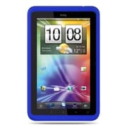 Insten Skin Rubber Case For HTC EVO View 4G Flyer - Blue