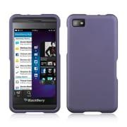 Insten Hard Rubber Cover Case For BlackBerry Z10 - Purple