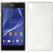 Insten Hard Crystal Skin Tinted Back Protective Case For Sony Xperia T3 - White