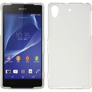 Insten Hard Crystal Skin Tinted Back Protective Case For Sony Xperia Z2 - White