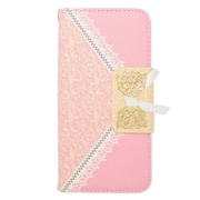 Insten Folio Leather Wallet Cover Case with Card slot For Apple iPhone 6s / 6 - Pink/Gold