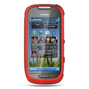 Insten Hard Crystal Rubber Skin Protective Shell Case For Nokia Astound - Red