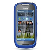 Insten Hard Crystal Rubber Skin Protective Shell Case For Nokia Astound - Blue
