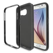 Insten Gel Dual Layer Hard Case Cover For Samsung Galaxy S6 - Black