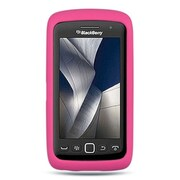 Insten Rubber Case For BlackBerry Torch 9850/9860 - Hot Pink