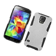 Insten Astronoot Hard Hybrid TPU Case For Samsung Galaxy S5 - White/Black