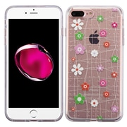 Insten Tiny Blossoms Gel Case For Apple iPhone 7 Plus - Pink