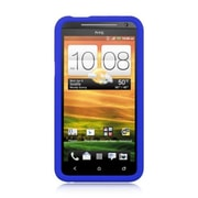 Insten Rubber Cover Case For HTC EVO 4G - Blue
