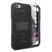 Insten Hybrid Case with stand For Apple iPhone 6s Plus / 6 Plus - Black