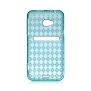 Insten TPU Cover Case For HTC EVO 4G - Blue