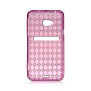 Insten Rubber Case For HTC EVO 4G - Hot Pink