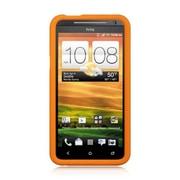 Insten Rubber Case For HTC EVO 4G - Orange