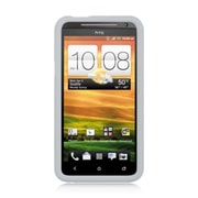 Insten Gel Rubber Cover Case For HTC EVO 4G - Clear