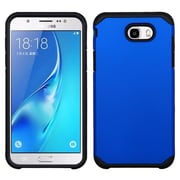 Insten Astronoot Dual Layer Hybrid Hard TPU Protective Case For Samsung Galaxy J7 (2017) / Sky Pro - Blue/Black