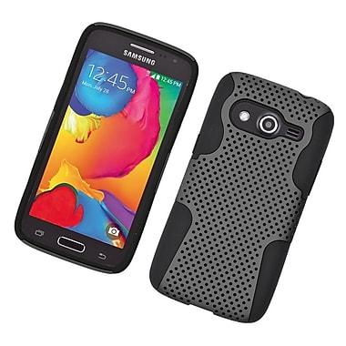 Insten Astronoot Hard Hybrid TPU Cover Case For Samsung Galaxy Avant - Gray/Black