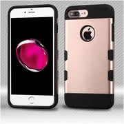 Insten Hard TPU Case For Apple iPhone 7 Plus - Rose Gold/Black