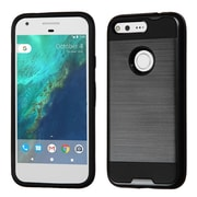 Insten Hard Dual Layer TPU Cover Case For Google Pixel - Black