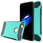 Insten For Apple iPhone 7 Q Hybrid Dual Layer Slim Armor Protective Case - Teal/Black