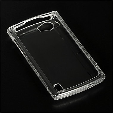 Insten Hard Crystal Skin Back Protective Shell Cover Case For LG Optimus M+ - Clear
