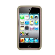Insten Skin Rubber Case For Apple iPod Touch 4th Gen - Smoke