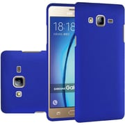 Insten Hard Rubber Cover Case For Samsung Galaxy On5 - Blue