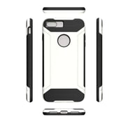 Insten For Apple iPhone 7 Plus Q Hybrid Dual Layer Slim Armor Shockproof Case - White/Black