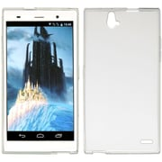 Insten Hard Crystal Skin Tinted Back Protective Case For ZTE Grand X Max - Clear