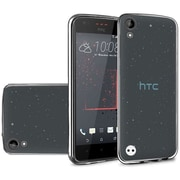 Insten Frosted Rubber Case For HTC Desire 530 - Black
