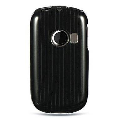 Insten Hard Crystal Skin Back Protective Shell Cover Case For Huawei M835 - Black Line