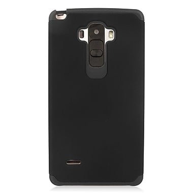 Insten Hard Hybrid Rubber Coated Silicone Cover Case For LG G Stylo/G Vista 2 - Black