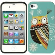 Insten TPU Imd Rubber Gel Back Case For Apple iPhone 4 / 4S