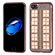 Insten Hard Bling TPU Case For Apple iPhone 7/ 8, Rose Gold