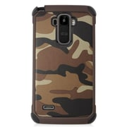 Insten Camouflage Hard Dual Layer Case For LG G Stylo/G Vista 2 - Brown
