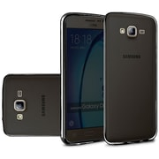 Insten Frosted Rubber Case For Samsung Galaxy On5 - Black
